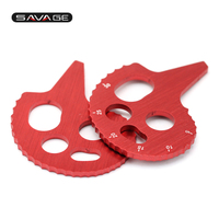 FOR Bajaj Pulsar 200NS 200RS 200AS CNC Aluminum Chain Adjuster Motorcycle Accessories