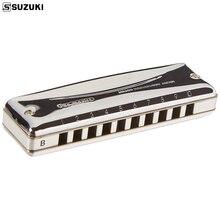 Suzuki MR350 Promaster Diatonic Harmonica 10 Holes 20 Notes Blues Harp Key Of C  Professional Quality Japan Musical Instruments