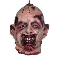 Scary Hanging Decoration Halloween Party Prop Haunted House Horror Zombie Heads