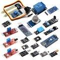 20 в 1 Модулей Датчик Kit + Мини USB Nano V3.0 ATMEGA328P Модуль CH340G 5 В 16 М Микроконтроллер Доска Diy