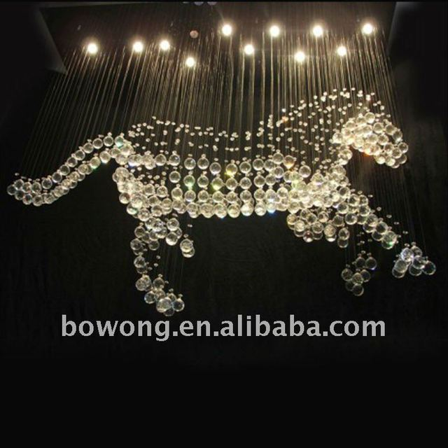 Animal horse shape crystal chandelier ceiling lamp in ceiling lights animal horse shape crystal chandelier ceiling lamp aloadofball Image collections