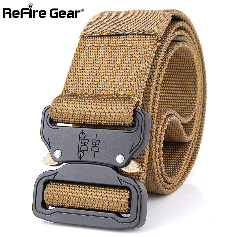 Apparel Accessories 2018 Tactical Belt Men 1000d Nylon Metal Buckle Knock Off Belts Us Army Soldier Carry Waist Belt Swat Combat Military Equipment