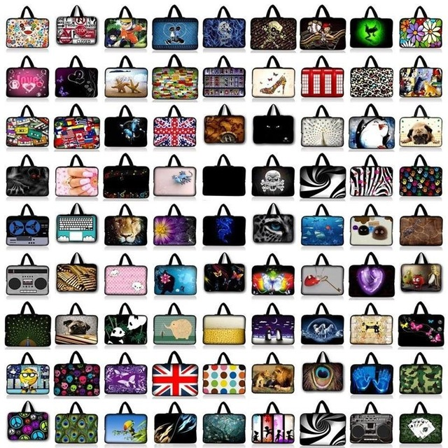 Customizable Waterproof Notebook Laptop Sleeve Bag Case Computer Cover Pouch For Tablet PC 15 15.6 17 9.7'' 7 11.6 13.3 14 Inch