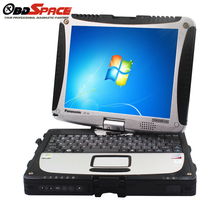 DHL Free 2017 High Quality Toughbook CF 19 CF19 cf-19 CF-19 Diagnostic laptop second Hand Free shipping Russian Diagnostic Tool