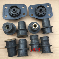Body suspension rubber sleeve/Girder rubber pier for Great wall Haval H3/H5 Full vehicle cushion rubber 10pcs/set