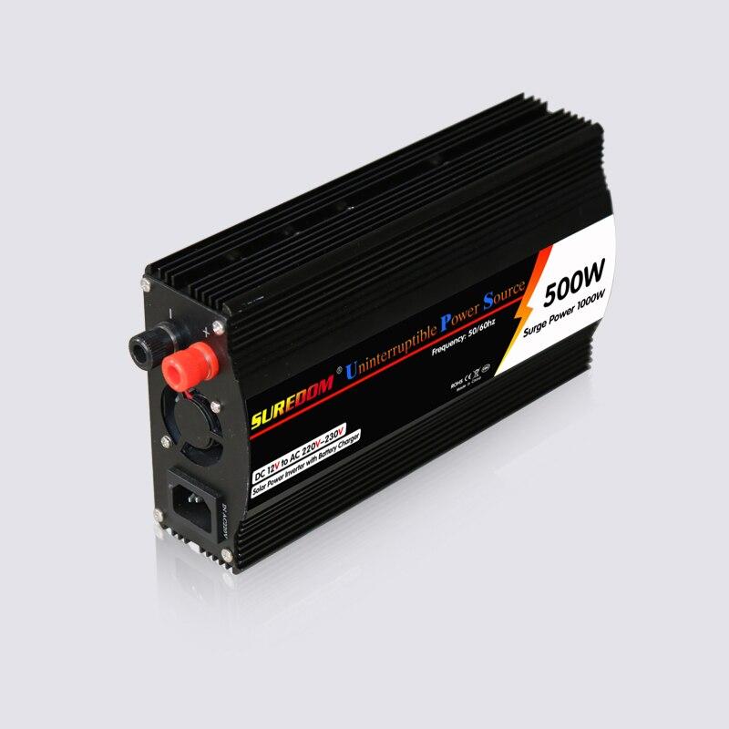 Solar Inverter Ac To Dc 12v 220v 500w Ups Inverter With