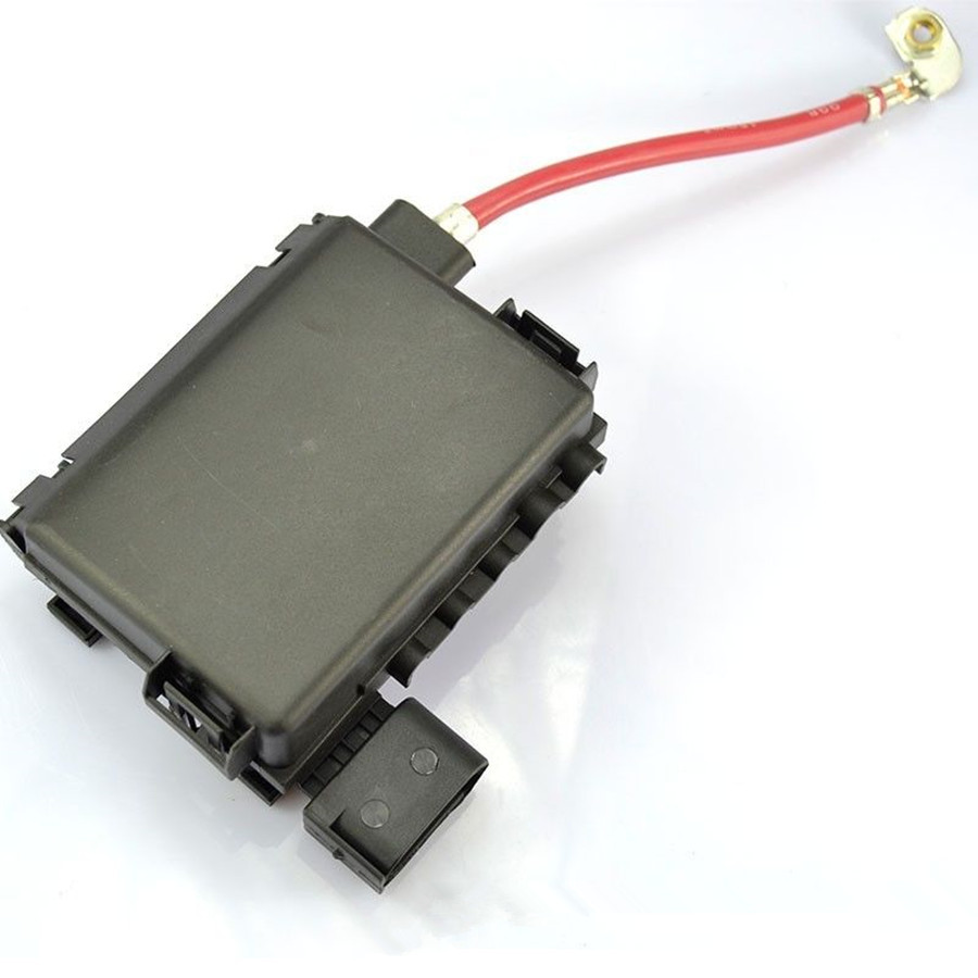 NEW Battery Fuse Box Assembly For VW Jetta Bora Golf MK4 Beetle Seat Leon Toledo 1J0 aliexpress com buy new battery fuse box assembly for vw jetta 2002 vw jetta fuse box on top of battery at reclaimingppi.co