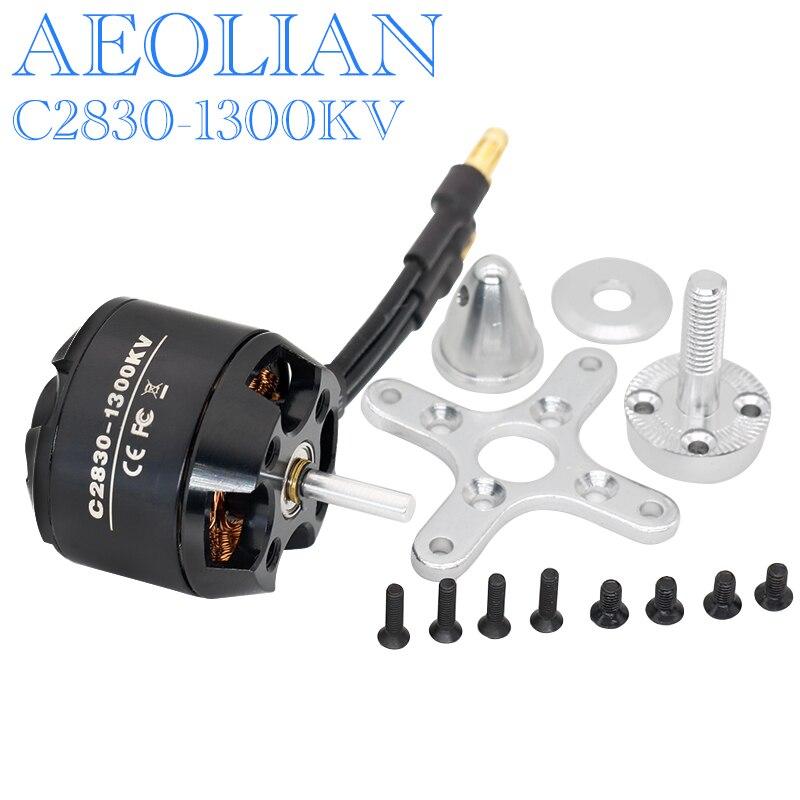 Nueva Aeolian 2836 1300kv eléctrico outrunner motor sin escobillas