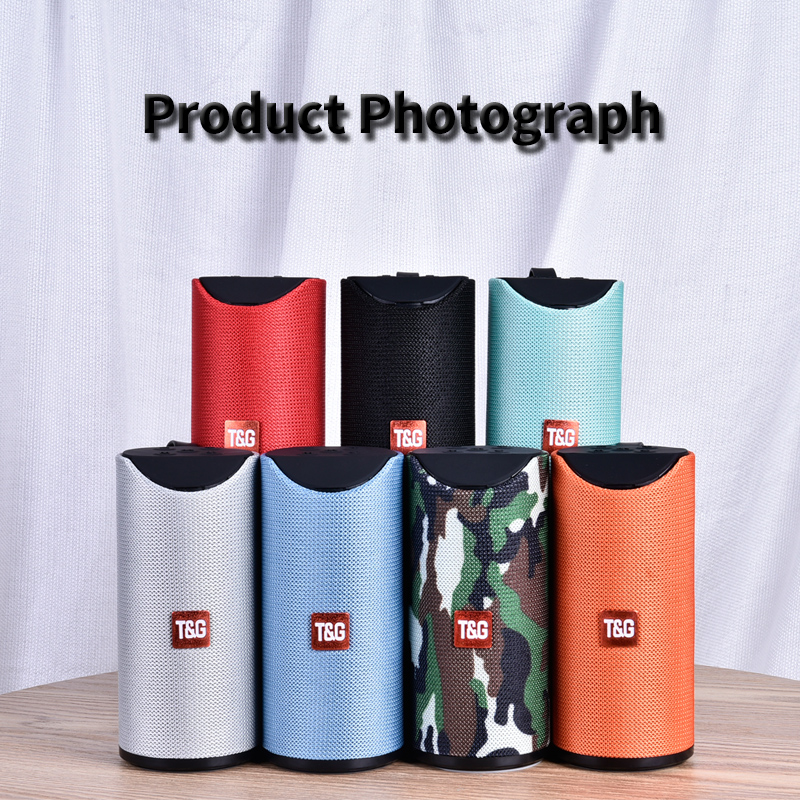 Image 5 - TG Bluetooth Speaker Portable Outdoor Loudspeaker Wireless Mini Column 3D 10W Stereo Music Surround Support FM TFCard Bass Box-in Outdoor Speakers from Consumer Electronics