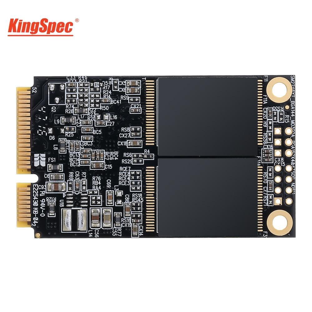 KingSpec SSD 512GB mSATA Original 6 GB/S interne SSD 500GB HDD disque dur solide Disco pour carte mère intégrée tablettes PC portable