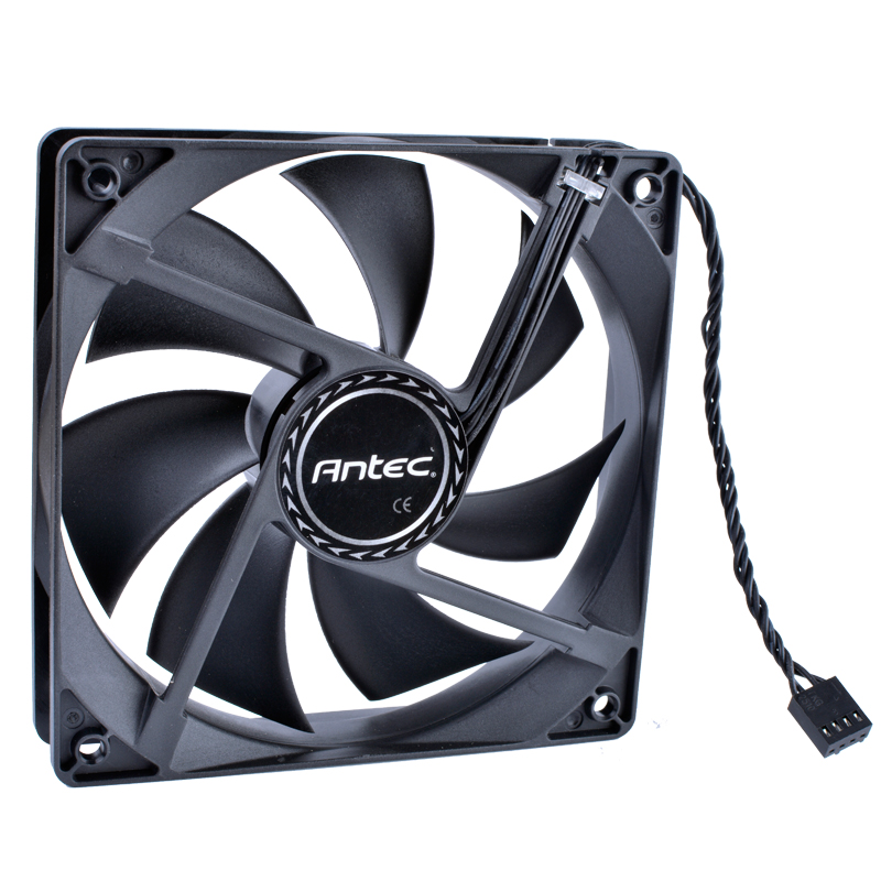COOLING REVOLUTION Antec 120mm Fan 12025 12V Computer CPU Cooler Fan 4-wire 4pin PWM Large Air Volume Silent Cooling Fan