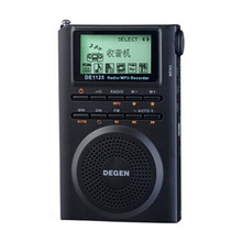 Degen DE1125H Radio Digital FM Radio Recorder FM Stereo MW SW AM MP3 E Book 4GB