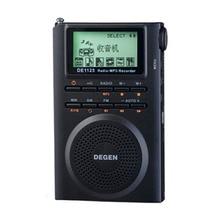 Degen DE1125H Radio numérique FM enregistreur de Radio FM stéréo MW SW AM MP3 E Book 4GB