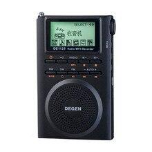 Degen de1125h רדיו דיגיטלי רדיו fm מקליט fm mw sw am סטריאו mp3 ספר אלקטרוני 4 gb