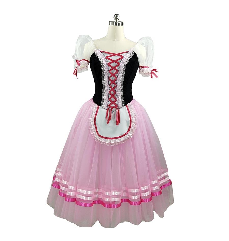 Free Shipping!Pink Giselle Ballet Tutu blue Romantic Ballet Tutu Purple Long Ballet Costume Yellow Classical Ballet Dress Girls