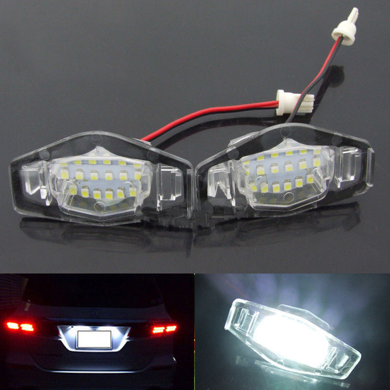 все цены на CYAN SOIL BAY 2x License Plate LED Light Lamp For 99-14 Honda Accord CRV/Acura MDX TL TSX CT онлайн