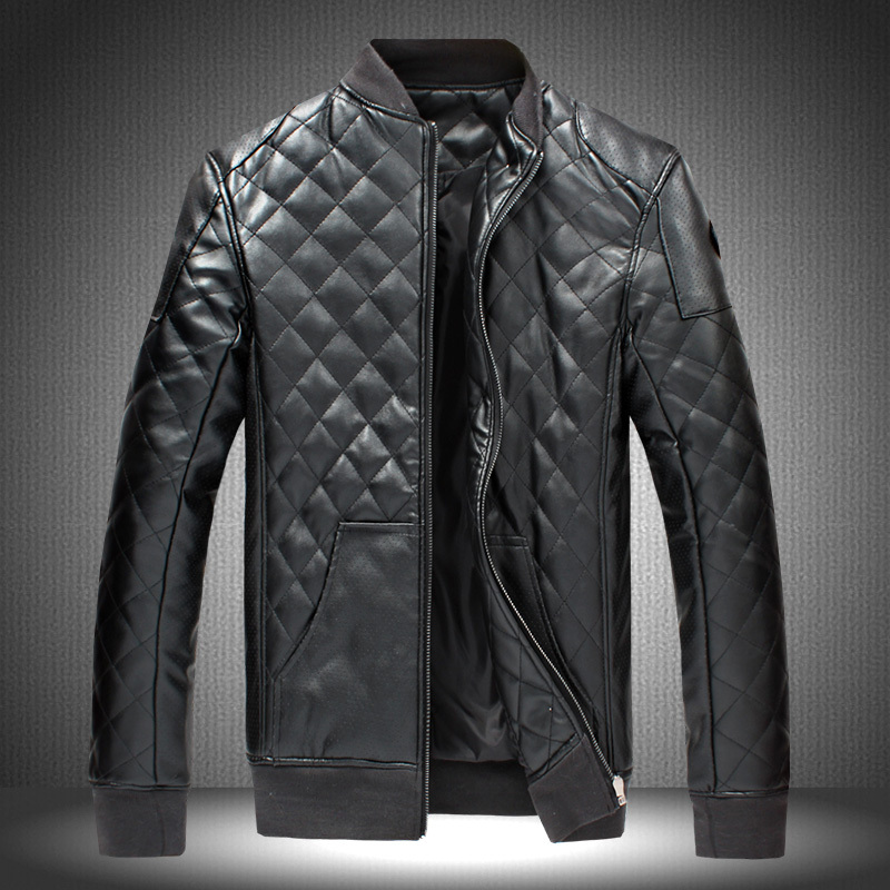 High Quality Faux Leather Jacket Men-Buy Cheap Faux Leather Jacket ...
