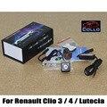 Segurança Laser luzes de nevoeiro para Renault Clio III 3 / IV 4 Lutecia 2005 ~ 2015 Car Anti - luz de nevoeiro traseira / veículo Collision Warning Lamp