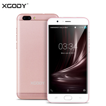XGODY D18 5.5 Inch 4G LTE Smartphone Android 6.0 Quad Core 1GB RAM+16GB ROM 8.0MP+13.0MP Dual SIM Unlocked Cell Phones Telefon