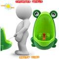 Precioso Rana Niños niños Potty Extraíble Aprendizaje Temprano Niños Pee Trainer Aseo Baño