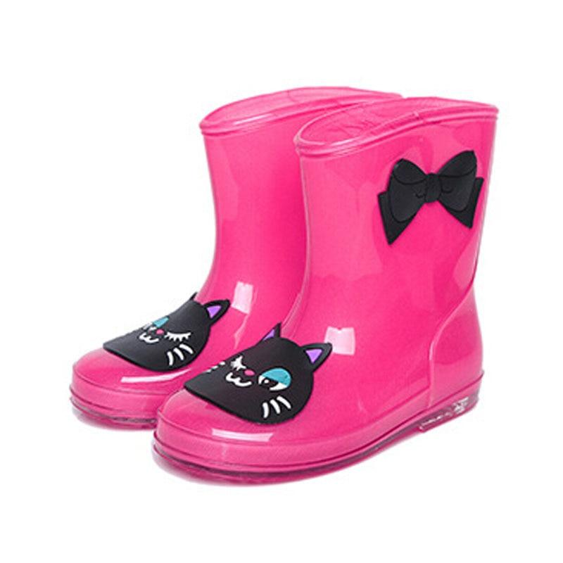 Cute Girls Rain Boots