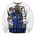 free shipping New Fashion Mens/Womens Gangsta Snoop Dogg 3D Print Casual Sweatshirt harajuku hip hop pullover Hoodies