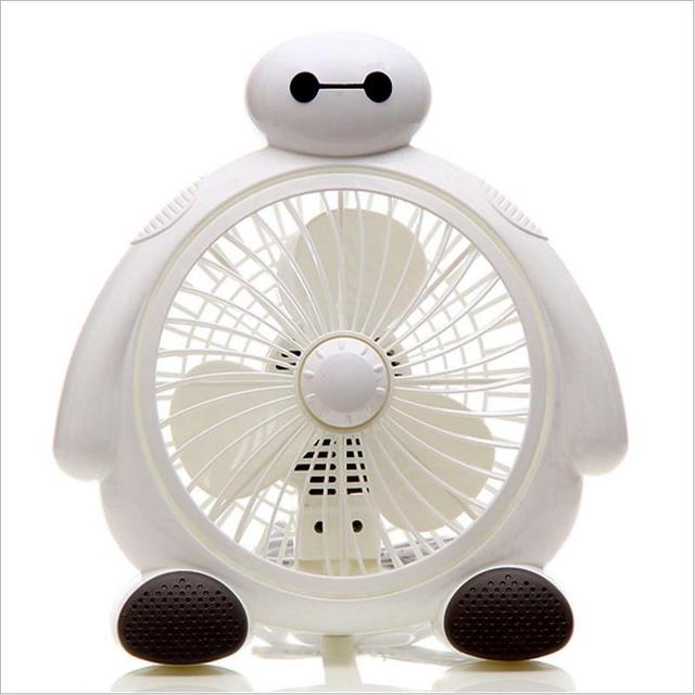 Cute Cartoon Table Fan 220V Cool Air Conditioner for Home Office