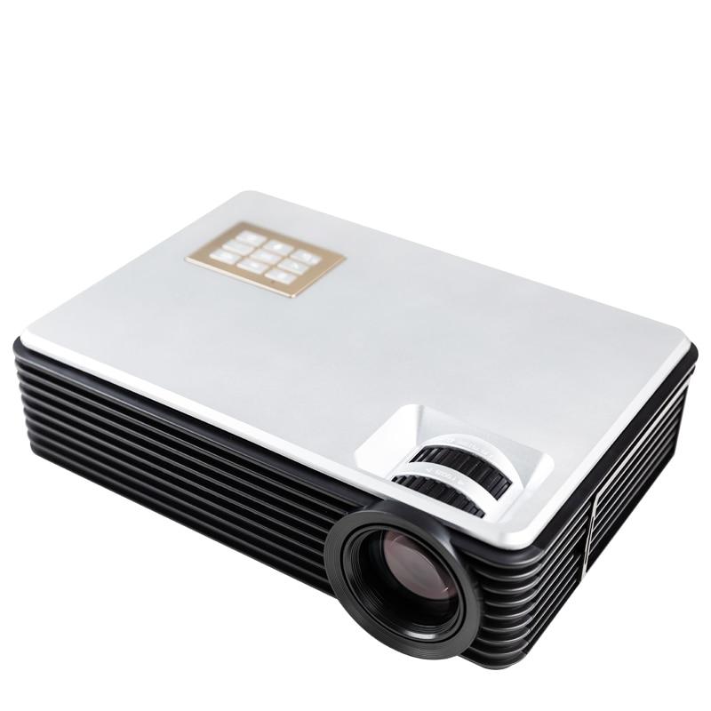 ByJoTeCH Q8 NEUE 5000 lumen Voller 1080 P 4 K 2 K Android Projektor WIFI Bluetooth Heimkino Beamer Unterstützung USB HDMI Proyector