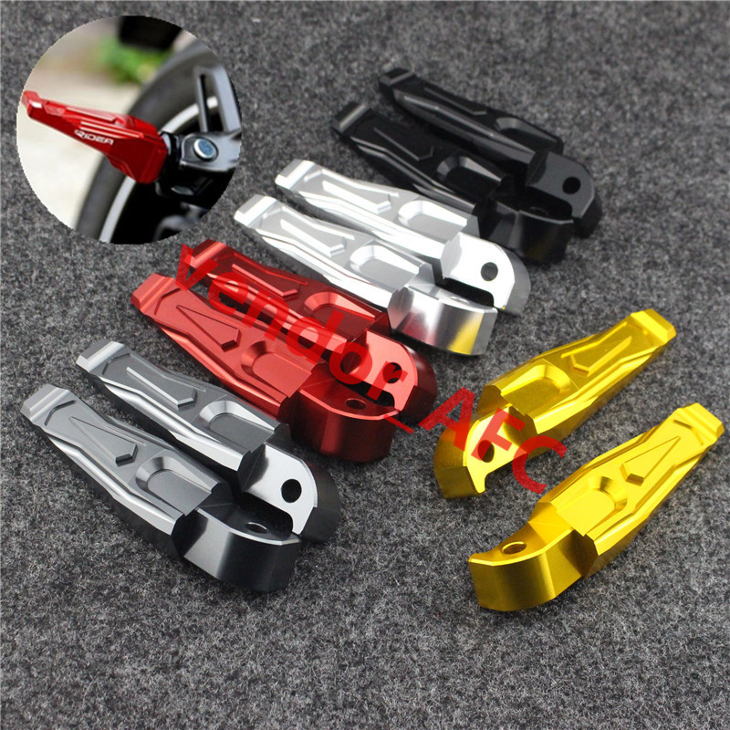 Motorcycle CNC Aluminum Rear Foot Rest Highway Pegs Street Dirt Bike Foot Pegs For YAMAHA TMAX 500 T-MAX530 MT07 MT09 оперативная память 4gb pc3 14900 1866mhz ddr3 dimm cl10 kingston hx318c10f 4 hyperx fury blue series