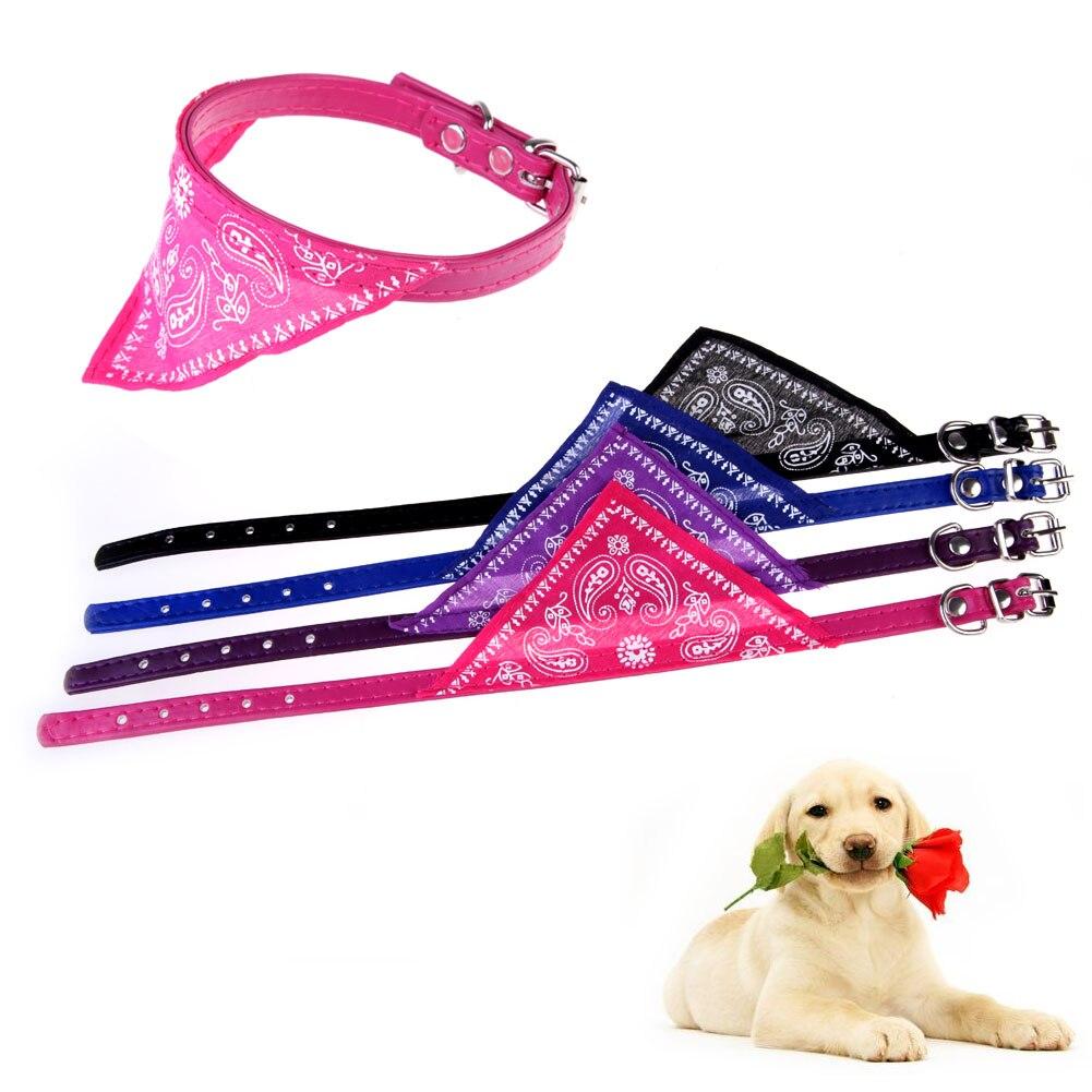 Nuevo perro decorar collares 5x ajustable perro perrito gato cuello ...