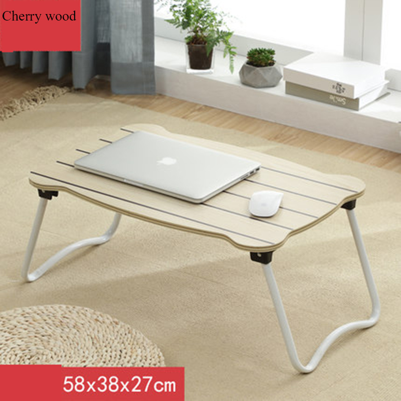 Laptop Desk Table With Folding Small Table Dormitory Learning Writing Desk