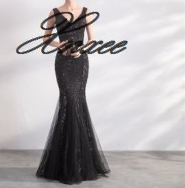 Image 5 - Gold Color Sequin Dresses Long Elegant Party Women Gowns-in Dresses from Women's Clothing