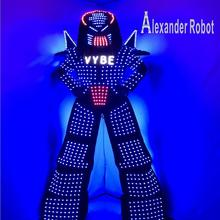 LED Robot suit Costume /LED Clothing/Light suits/ suits-/ ALEXANDER  robot