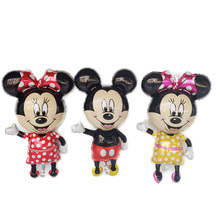 1pc Large Mickey and Minnie Foil Balloons Party Decorations Globos Birthday Decor Kids Babyshowerl Childrens Gift