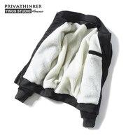 Privathinker 5XL Hombres de Pana de Invierno Chaquetas Hombres Corderos de Lana Gruesa Caliente Masculino Polar Cazadoras Capa de Paños
