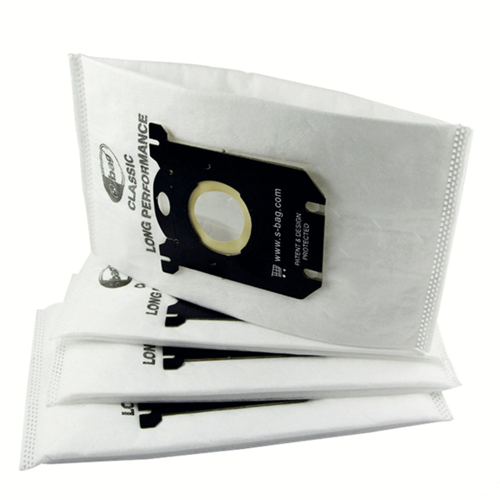 Vacuum Cleaner Dust Bags S-bag High Efficiency Filter Practical Vacuum Cleaner Accessory For Philips Electrolux Cleaner FC8202 10x vacuum cleaner bags dust bag filter electrolux s bag replacement for philips fc9170 fc9062 fc9161 performer etc