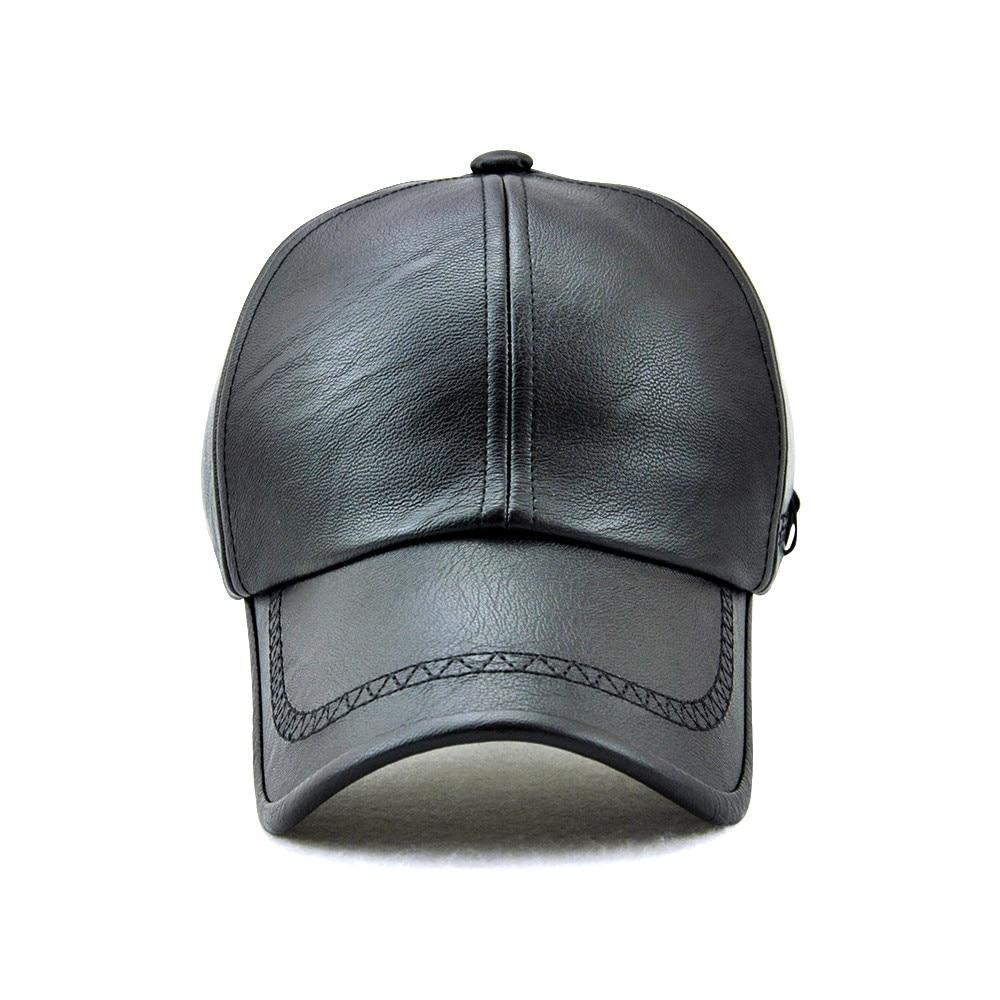 Xthree New fashion kualitas tinggi jatuh musim dingin pria kulit topi - Aksesori pakaian - Foto 2