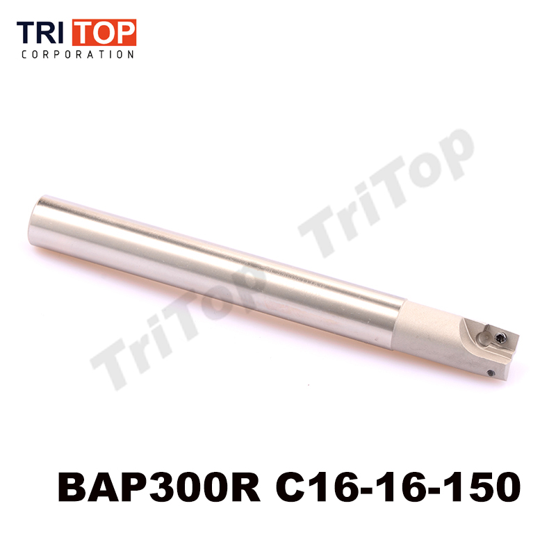 CNC Milling tool BAP JAP 300R C16-16-150 2 tooth high speed end mill for carbide milling insert APMT1135 APMT1135PDR  bap jap 300r 50 22 4t milling tool with 10pcs carbide milling insert apmt1135pdr face mill shoulder cutter bap 300r 50 22 4t
