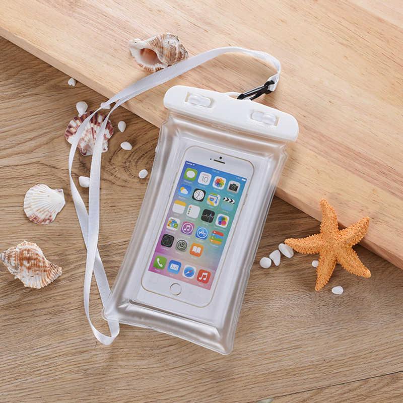 Универсальная воздушная подушка плавающая сумка для плавания водонепроницаемый сенсорный чехол для телефона плавание под водой мобильный телефон чехол для iPhone 6 7 8 Plus