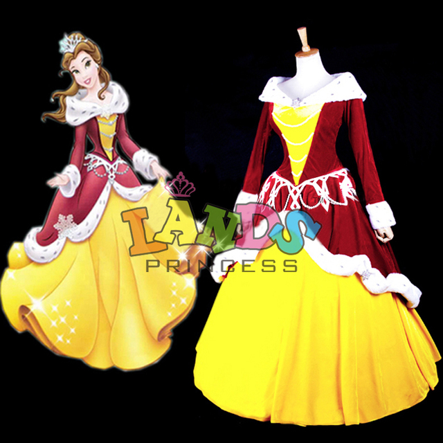 custom made beauty and the best costume belle dress christmas costume - Best Christmas Costumes