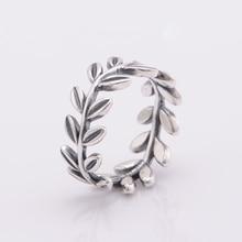 Auténtico 925-Sterling-Silver Clear CZ trenzas anillos de la joyería anillos de compromiso de boda para mujeres que envían libremente