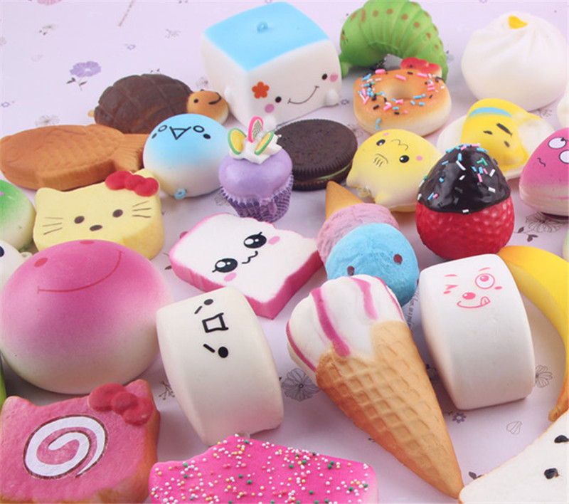 Bag Parts & Accessories Intelligent 1pcs Kawaii Soft Slow Rising Squeeze Toy Macaron Dessert Cake Cute Cell Phone Straps Kids Toys Gift Charms Cream Bread Scented
