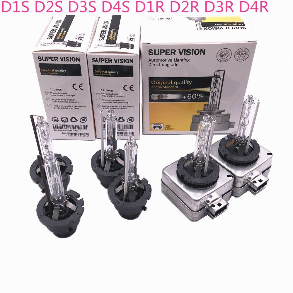 2X D1s D1r D2s D3s D2r D3r D4s D4r For Audi Nissan Mazda Jeep Dodge Chevrolet Buick Kia Toyota 35W 12V Xenon HID Headlamp Light