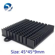3Pcs/Set Processor Heatsink Radiator Aluminum Extruded Profile Heat Sink For Electronic Dissipation Cooler YL-0006