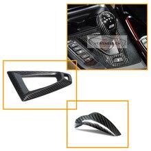 РЖС углеродного волокна руль отделка углерода оболочка рукоятки рычага переключения передач для BMW M2 F87 M3 F82 M4 F10 M5 F12 M6 стикера автомобиля аксессуары