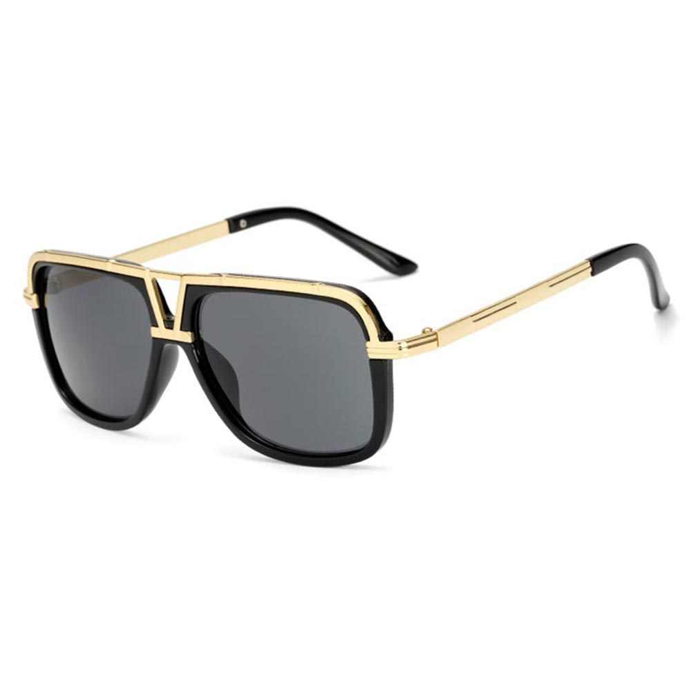 1109ff706 2018 DPZ Brand Design men sunglasses Women retro square steampunk UV400  protective eyeglasses Luxury brands with