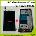 5.0inch Full LCD Display +Touch Screen Digitizer Glass +Frame Assembly For Huawei P8 Lite ALE-L04 L21 TL00 L23 CL00 L02