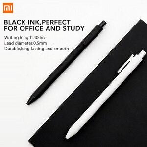 Image 3 - 10 ชิ้น/ล็อต Xiao mi KACO 0.5 มม. Xiao mi mi ปากกา Gal หมึกเขียนลายเซ็นสีดำเติมเงินไม่ปากกา roller ball ปากกา