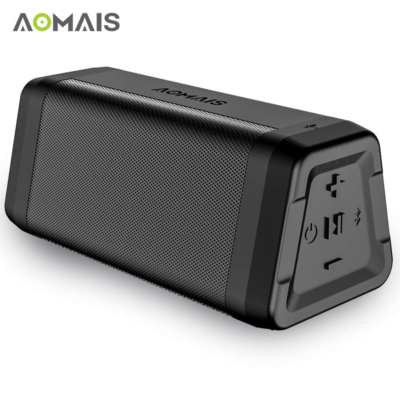 AOMAIS C15 Portable Bluetooth Speaker Stereo Sound Soundbar Column for Music MP3 Player Loudspeaker Waterproof Wireless Speakers tronsmart element t6 mini bluetooth speaker portable wireless speaker with 360 degree stereo sound for ios android xiaomi player