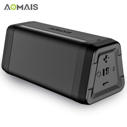 AOMAIS C15 Portable Bluetooth Speaker Stereo Sound Soundbar Column for Music MP3 Player Loudspeaker Waterproof Wireless Speakers